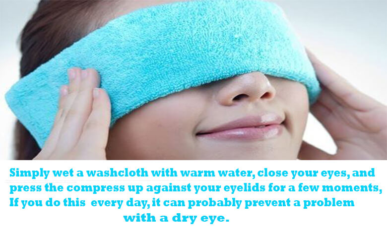 Pamper Your Eyelids With A Warm Pack Each Day