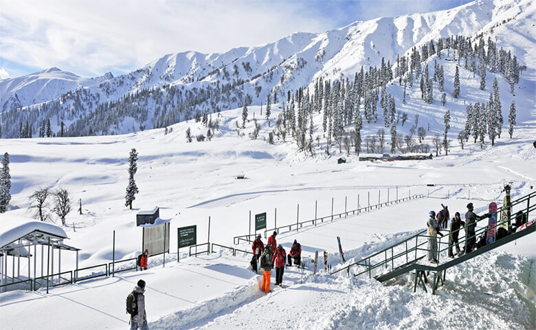 Gulmarg, hill stations in india with snowfall - Relish Doze