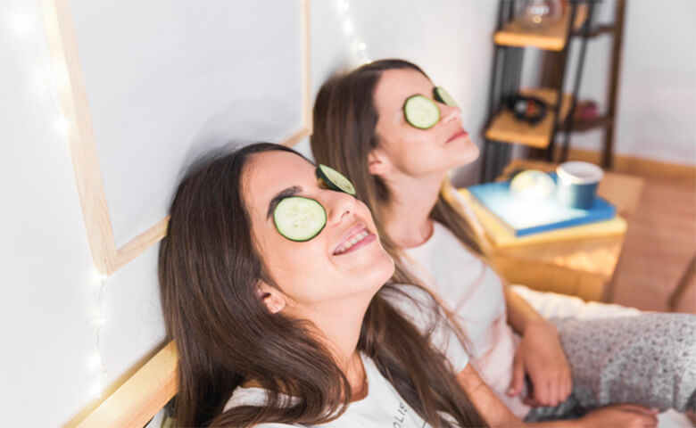 remove your dark circles under eyes with Cucumber - relish doze