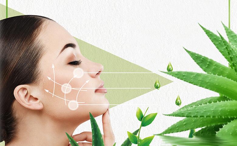 Aloe Vera for face - relish doze