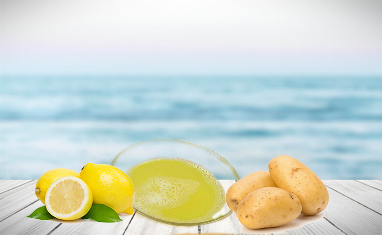 Potato to remove dark spots on face - relish doze