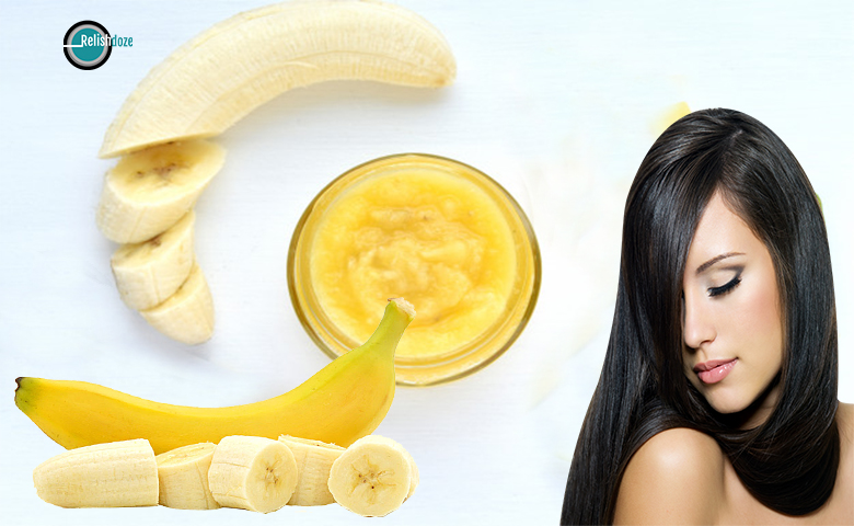 Banana hair mask - relish doze