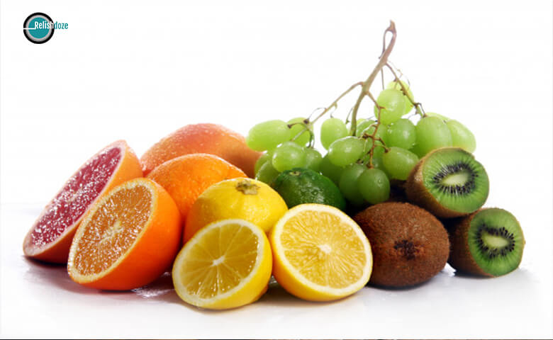 Citrus fruits for sour throat - relish doze