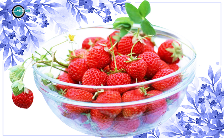 Strawberry Hair Mask - relish doze
