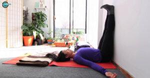 Viparita Karani or Legs Up The Wall Pose - Relish Doze